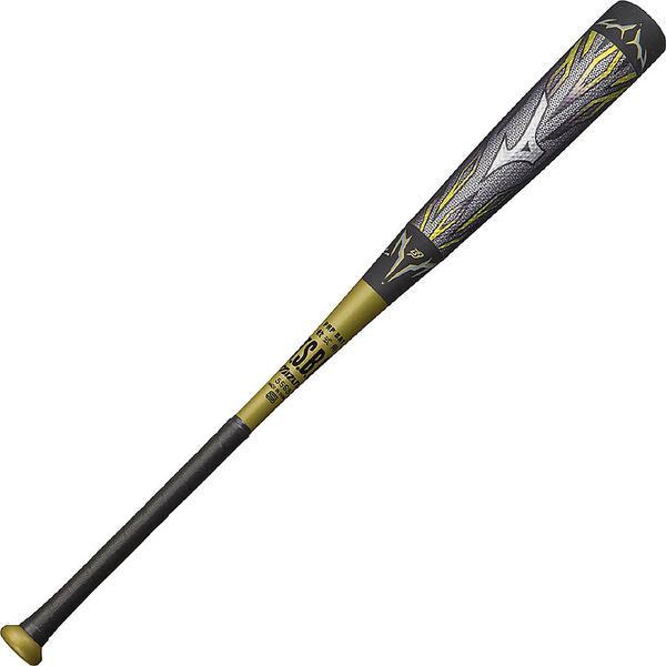 (送料無料)MIZUNO(ミズノ)野球 軟式メタルバッド MEGAKING2 1CJBR11884 メンズ 905 ブラックXグレー
