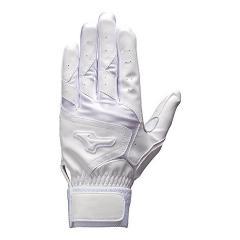 MIZUNO(ミズノ)野球 大人 両手用 アラエルテンネンヒカク16 HS 1EJEH13310 メンズ ホワイトxホワイト