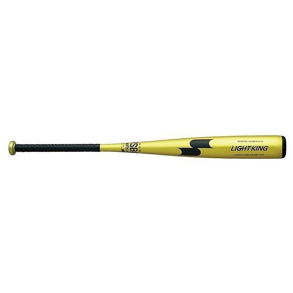 (送料無料)SSK(エスエスケイ)野球 軟式メタルバッド ナンシキキンゾクセイBAT ライトキング LKN00216 85 ライトグリーンGD