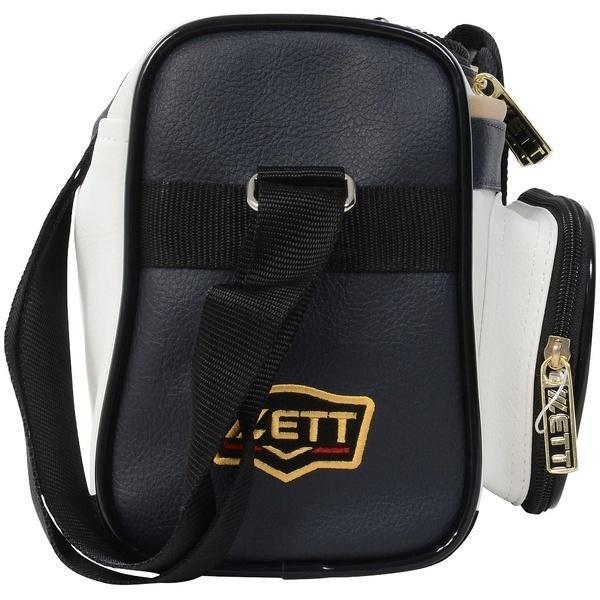 ZETT(ゼット)野球 ショルダーバッグ チームバッグ ミニバッグ(ショルダータイプ)BAP504B Dネイビー/ホワイト