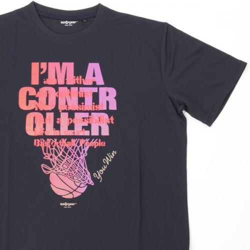 (セール)s.a.gear(エスエーギア)バスケットボール メンズ 半袖Tシャツ 16SグラフィックTシャツ1 SA-S16-103-018 メンズ ネイビー