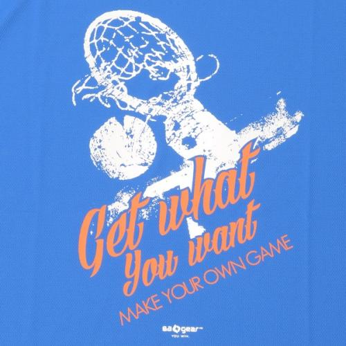 (セール)s.a.gear(エスエーギア)バスケットボール メンズ 半袖Tシャツ 16SグラフィックTシャツ3 SA-S16-103-020 メンズ ロイヤルブルー