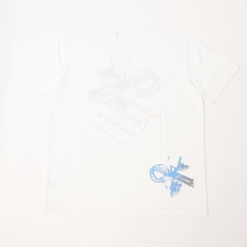 (セール)s.a.gear(エスエーギア)バスケットボール メンズ 半袖Tシャツ 16SグラフィックTシャツ5 SA-S16-103-022 メンズ ホワイト