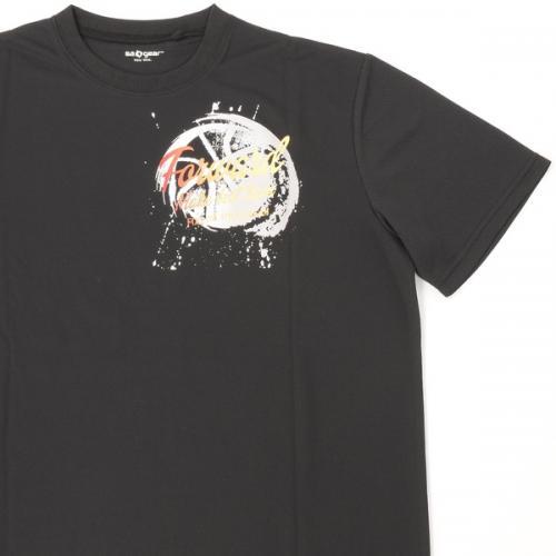 (セール)s.a.gear(エスエーギア)バスケットボール メンズ 半袖Tシャツ 16SポジションTシャツ2 SA-S16-103-024 メンズ ブラック