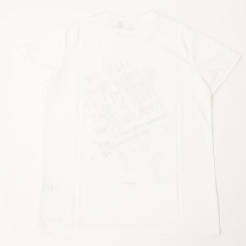 (セール)s.a.gear(エスエーギア)バスケットボール レディース 半袖Tシャツ 16SレディースグラフィックTシャツ5 SA-S16-103-030 レディース ホワイト