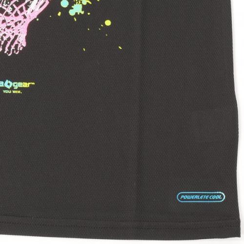 (セール)s.a.gear(エスエーギア)バスケットボール レディース 半袖Tシャツ 16SレディースグラフィックTシャツ5 SA-S16-103-030 レディース ブラック/グリーン