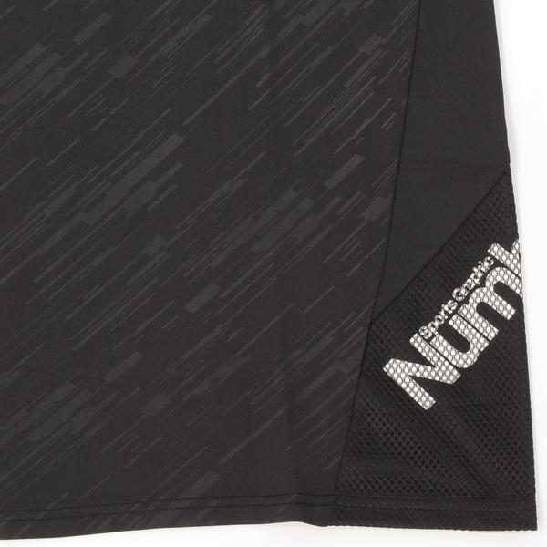 (セール)Number(ナンバー)バスケットボール メンズ プラクティスシャツ NBTF ロゴTシャツ NB-S16-103-001 メンズ ブラック