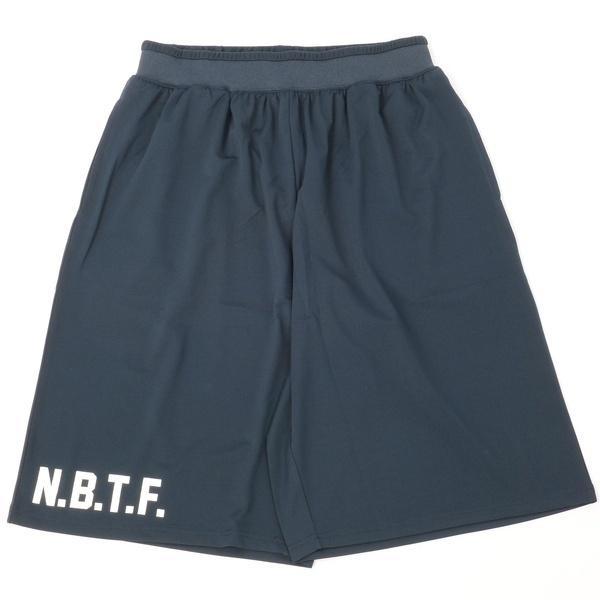 (セール)Number(ナンバー)バスケットボール メンズ プラクティスショーツ NBTF ロゴパンツB NB-S16-103-003 メンズ ネイビー