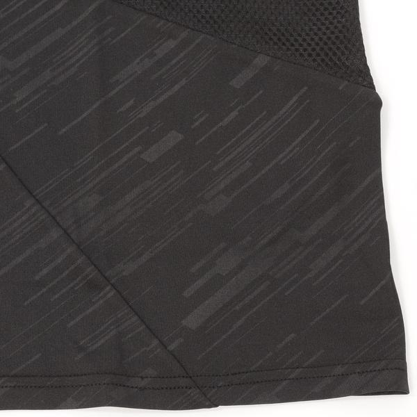 (セール)Number(ナンバー)バスケットボール メンズ プラクティスシャツ NBTF 切替えTシャツ NB-S16-103-004 メンズ ブラック