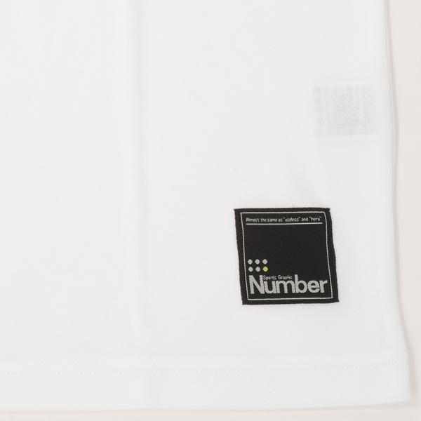 (セール)Number(ナンバー)バスケットボール メンズ 半袖Tシャツ NBTF Tシャツ NB-S16-103-006 メンズ ホワイト