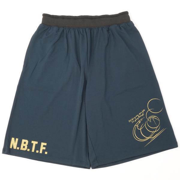 (セール)Number(ナンバー)バスケットボール メンズ プラクティスショーツ NBTF パンツ NB-S16-103-007 メンズ ネイビー