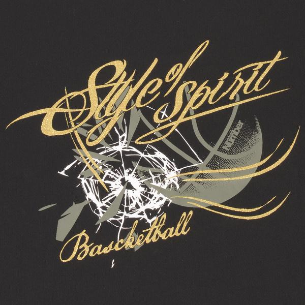 (セール)Number(ナンバー)バスケットボール メンズ 半袖Tシャツ NBTF デザインTシャツ NB-S16-103-008 メンズ ブラック