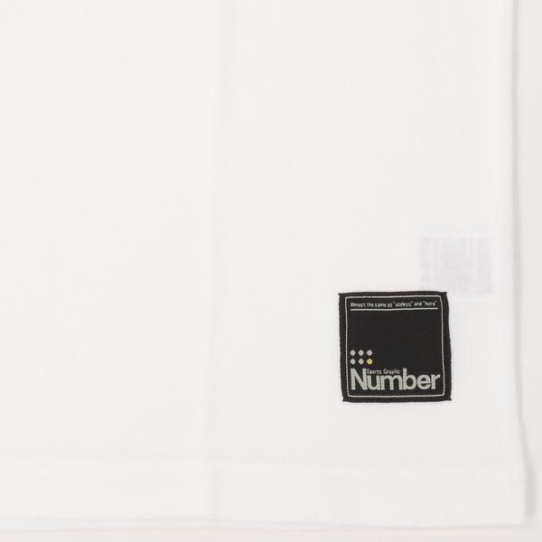 (セール)Number(ナンバー)バスケットボール メンズ 半袖Tシャツ NBTF デザインTシャツ NB-S16-103-008 メンズ ホワイト