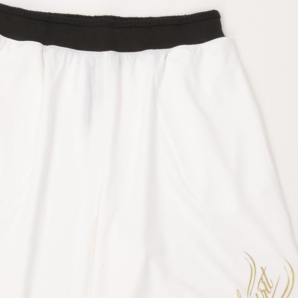 (セール)Number(ナンバー)バスケットボール メンズ プラクティスショーツ NBTF デザインパンツ NB-S16-103-009 メンズ ホワイト
