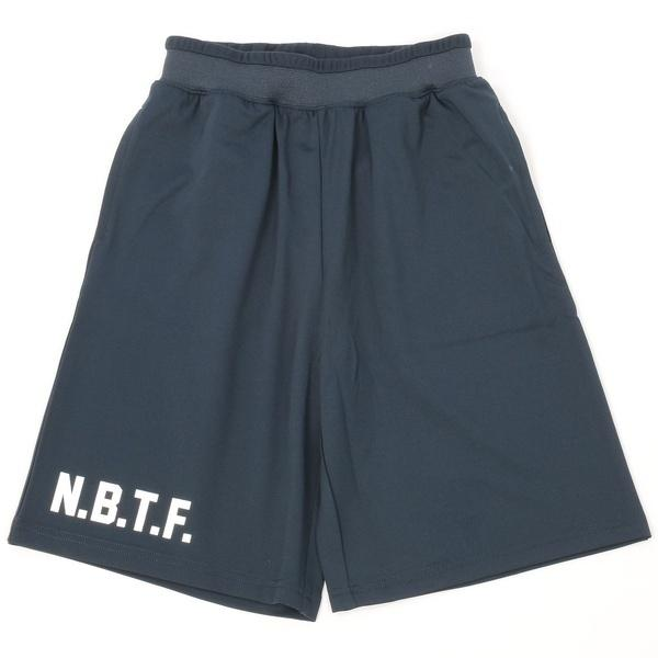 (セール)Number(ナンバー)バスケットボール ジュニア プラクティスショーツ ジュニアNBTF ロゴパンツ NB-S16-103-010 ボーイズ ネイビー