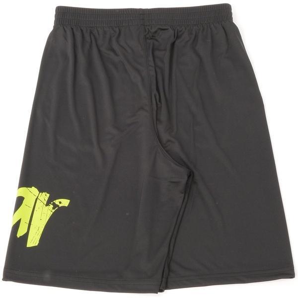 (セール)s.a.gear(エスエーギア)バスケットボール メンズ プラクティスショーツ ビッグロゴショーツ SA-Y16-103-008 メンズ ブラック/ライム