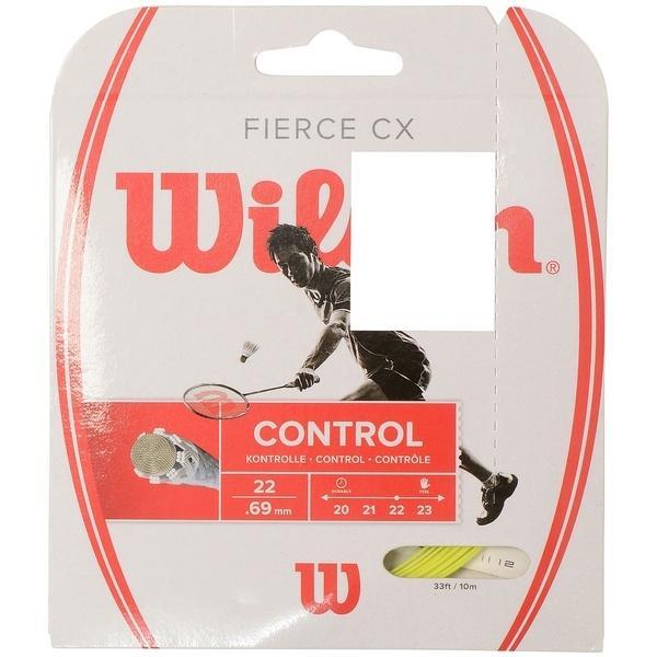 WILSON(ウィルソン)バドミントン ストリングス FIERCE CX LIME WRR943400 0.69 LIM