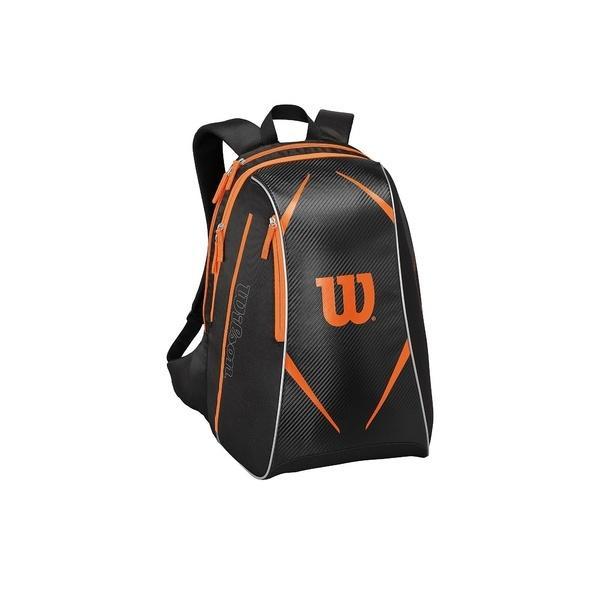 (送料無料)WILSON(ウィルソン)ラケットスポーツ バッグ ケース類 TOPSPIN BURN BACKPACK BKOR WRZ841695 BLACK/ORANGE