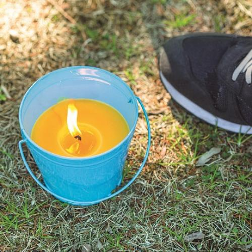 (セール)Alpine DESIGN(アルパインデザイン)キャンプ用品 キャンピングアクセサリー 虫よけキャンドル(シトロネラ) 蓋付き 13 AD-S16-402-071 PNK ピンク