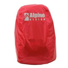 Alpine DESIGN(アルパインデザイン)トレッキング アウトドア ザックカバー ザックカバー(40L~50L) AD-Y16-401-035 RED 40L-50L レッド