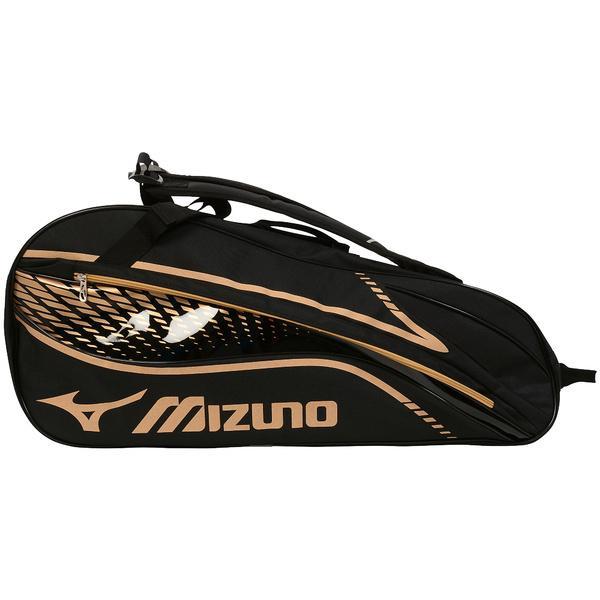 (セール)MIZUNO(ミズノ)テニス バドミントン ラケットバッグ ケース ラケットバッグ6 63JD600309 ブラック