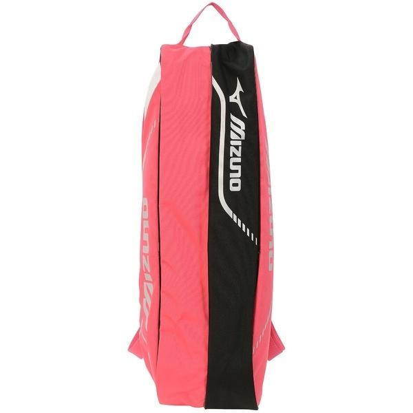 (セール)MIZUNO(ミズノ)テニス バドミントン ラケットバッグ ケース ラケットバッグ6 63JD600364 ピンク