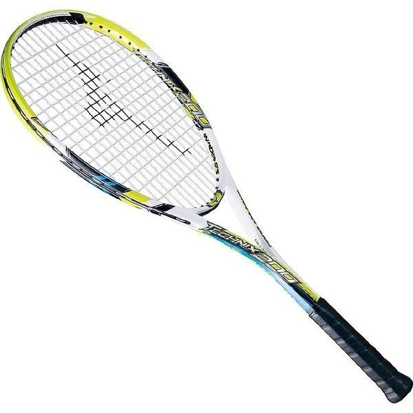 (送料無料)MIZUNO(ミズノ)ソフトテニス 張り上げラケット TECHNIX 200 63JTN67539 00ZG ホワイトxライム