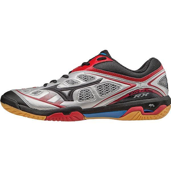 (セール)(送料無料)MIZUNO(ミズノ)テニス バドミントン バドミントンシューズ WAVE FANG RX 71GA150503 シルバーxブラックxレッド