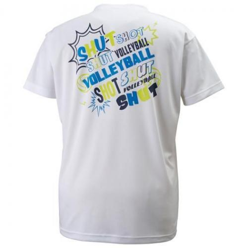 (セール)MIZUNO(ミズノ)バレーボール 半袖プラクティスシャツ プラクティスシャツ V2MA608401 ホワイト