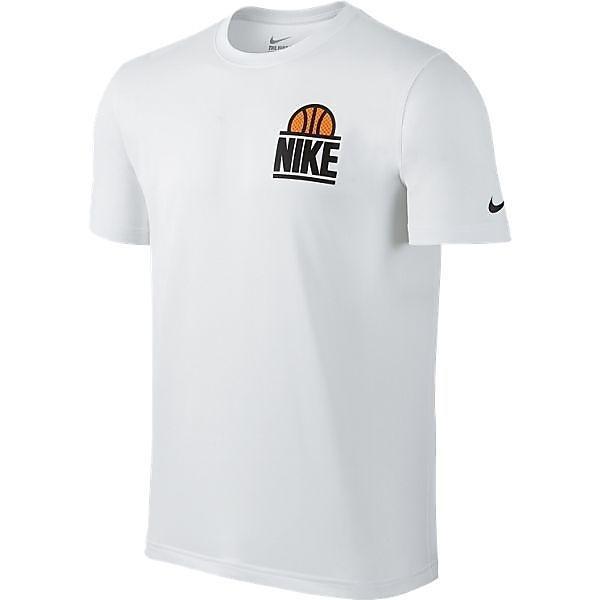 (セール)NIKE(ナイキ)バスケットボール メンズ 半袖Tシャツ 【NIKE2016 New】ナイキ クラシック ブロック S/S Tシャツ 807110-100 メンズ ホワイト/ホワイト/(ブラック)