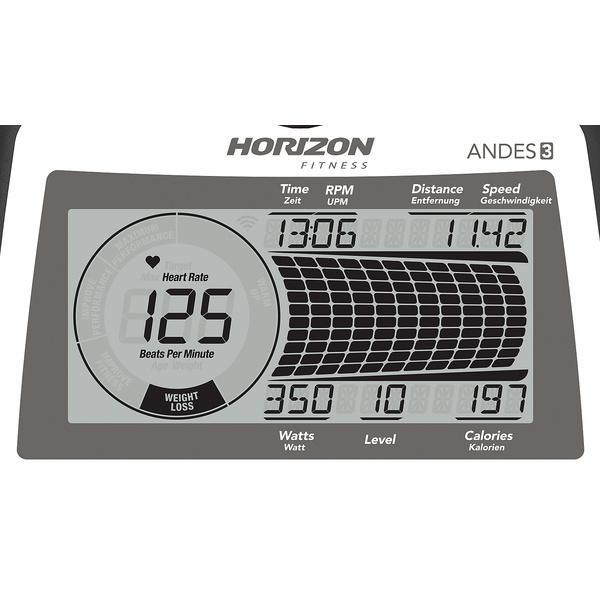(送料無料)HORIZON(ホライズン)フィットネス 健康 ホームフィットネス(計測器 大型器具) 【メーカー直送品】ANDES 3 ANDES 3 WHT/BLK