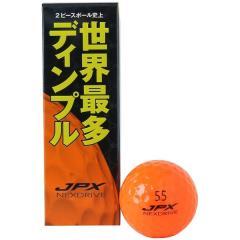 MIZUNO(ミズノ)ゴルフ ボール JPX NEXDRIVE ORG 5NJBM72540 3 メンズ 3P ホワイトxピンク