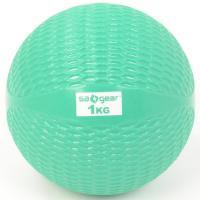 s.a.gear(エスエーギア)フィットネス 健康 その他ウェイト用品 トーニング・ボール1KG SA-Y16-203-008 1KG グリーン