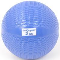 s.a.gear(エスエーギア)フィットネス 健康 その他ウェイト用品 トーニング・ボール2KG SA-Y16-203-009 2KG ブルー