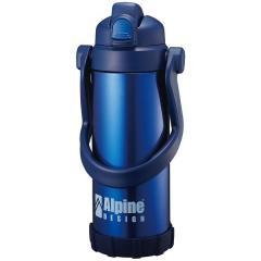 (セール)Alpine DESIGN(アルパインデザイン)キャンプ用品 ジャグ タンク ワンタッチダイレクトボトル 2.0L AD-S16-402-124 BLU ブルー