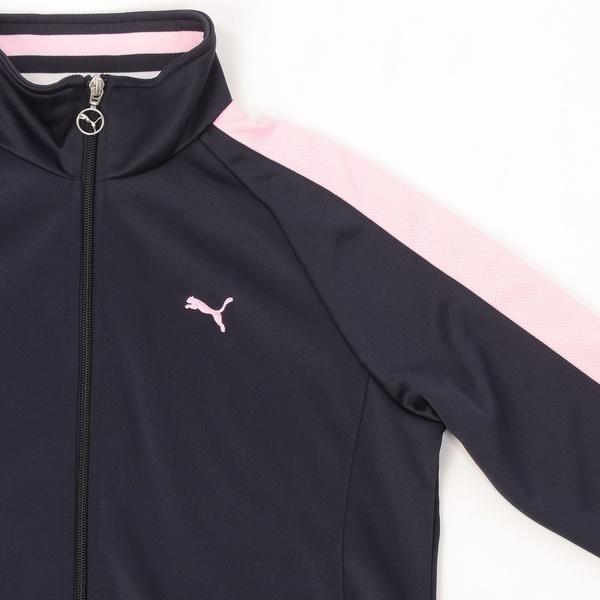 (セール)PUMA(プーマ)レディーススポーツウェア ウォームアップジャケット トレーニングジャケット 51470403 レディース ニューネイビー