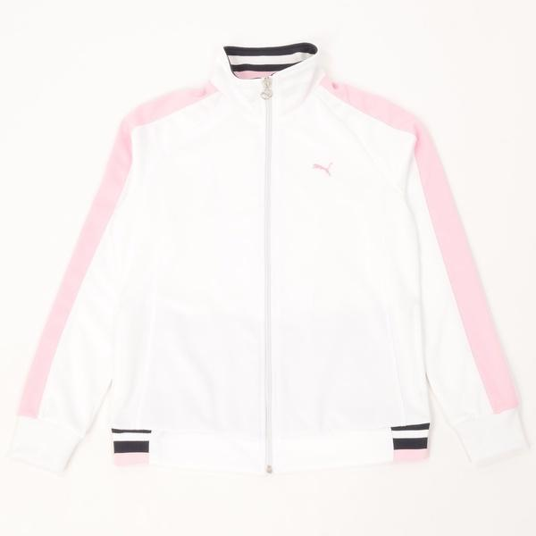 (セール)PUMA(プーマ)レディーススポーツウェア ウォームアップジャケット トレーニングジャケット 51470404 レディース ホワイト
