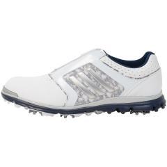 (セール)(送料無料)adidas(アディダス)ゴルフ レディースゴルフシューズ ウィメンズ アディスターツアー ボア V4351-F33319 レディース ホワイト/シルバーメタリック/ネイビー