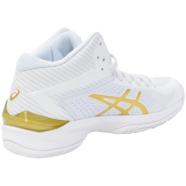 (送料無料)ASICS(アシックス)バスケットボール シューズ GELBURST 20TH-SLIM TBF23G.0194 WHT/GLD