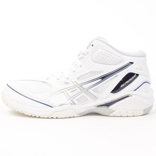 (セール)(送料無料)ASICS(アシックス)バスケットボール ジュニア シューズ GELPRIMESHOT SP 3 TBF135.0193 ジュニア ホワイト/シルバ-