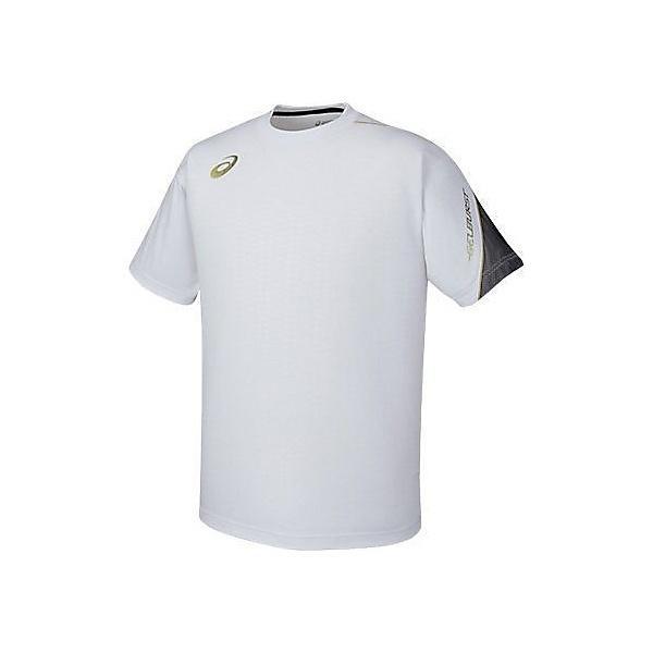(セール)ASICS(アシックス)バスケットボール メンズ 半袖Tシャツ TシヤツHS XB6570.01 WHT