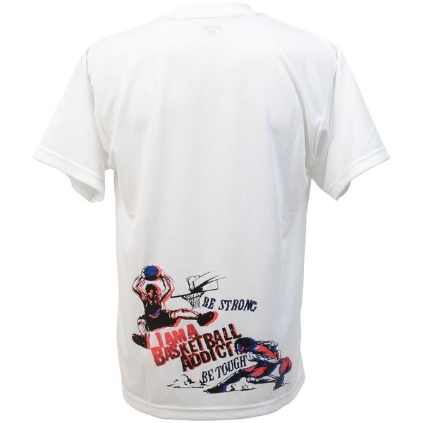 (セール)ASICS(アシックス)バスケットボール メンズ 半袖Tシャツ プリントTシヤツHS XB980N.01C WHT