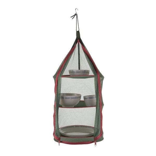 (セール)COLEMAN(コールマン)キャンプ用品 テーブルウェアアクセサリー ハンギングドライネットII(グリーン)2000026811