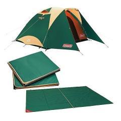 (送料無料)COLEMAN(コールマン)キャンプ用品 ファミリーテント タフドーム/3025 スタートパッケージ (グリーン)2000027279