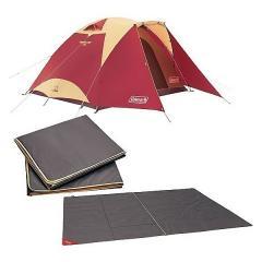 (送料無料)COLEMAN(コールマン)キャンプ用品 ファミリーテント タフドーム/3025 スタートパッケージ (バーガンディ)2000027280