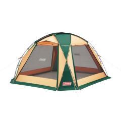 (送料無料)COLEMAN(コールマン)キャンプ用品 ファミリータープ ドームスクリーンタープ/380(グリーン)2000027290