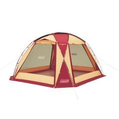 (セール)(送料無料)COLEMAN(コールマン)キャンプ用品 ファミリータープ ドームスクリーンタープ/380(バーガンディ)2000027291