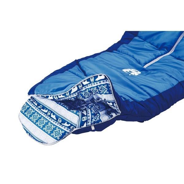 (セール)COLEMAN(コールマン)キャンプ用品 スリーピングバッグ 寝袋 ジュニア用 キッズマミーアジャスタブル/C4(ネイビー)2000027270