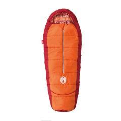 COLEMAN(コールマン)キャンプ用品 スリーピングバッグ 寝袋 ジュニア用 キッズマミーアジャスタブル/C4(オレンジ)2000027271