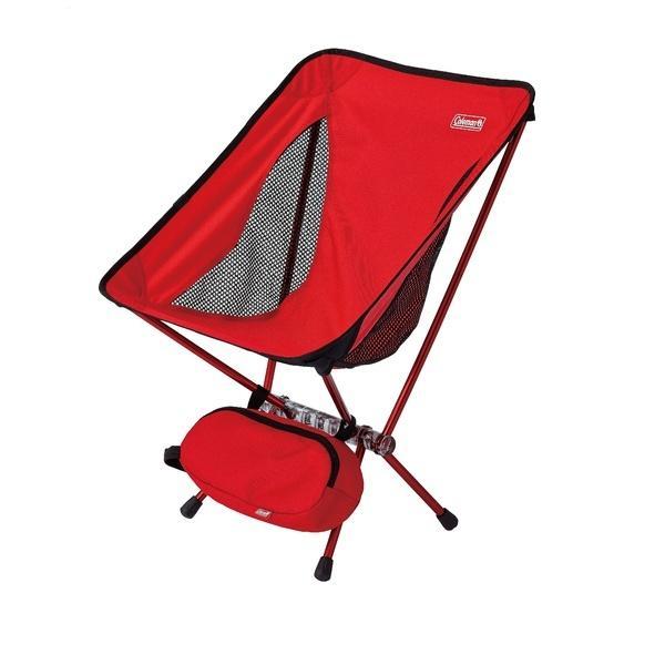 (送料無料)COLEMAN(コールマン)キャンプ用品 ファミリーチェア リーフィーチェア(レッド)2000027854